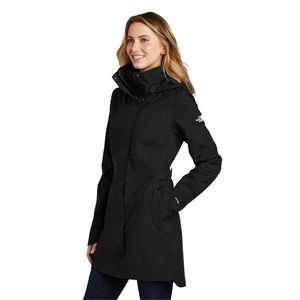 North Face Hyvent Trench Coat with removable hood